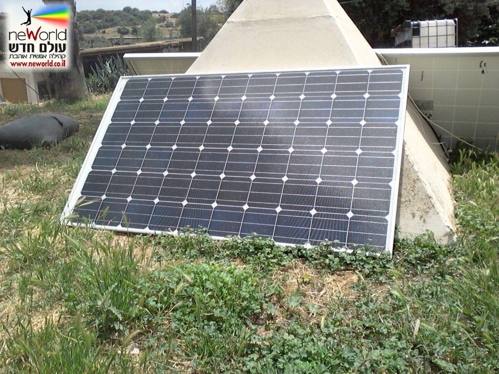 רק החוצה פאנל סולארי | קולט סולארי | לוח סולארי 24V 300W איכותי Solar Panel UO-39