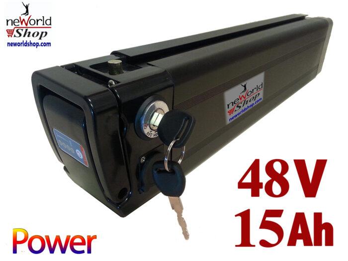 סוללה לאופניים חשמליים 48V 15AH