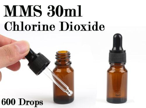 "MMS מ.מ.ס 30 מ""ל כלורין דאוקסיד - chlorine dioxide"